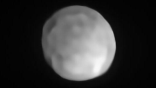 Telescopios de ESO detectan el planeta enano más pequeño del Sistema Solar