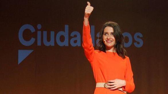 Inés Arrimadas, embarazada de su primer hijo