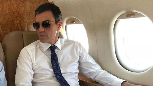 El avión de Sánchez, obligado a aterrizar tras un fallo inesperado