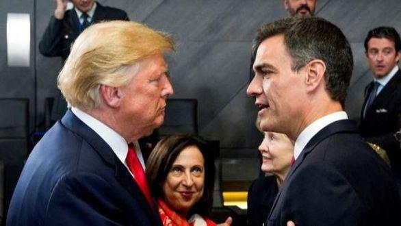 EEUU estudia sancionar económicamente a España por la supuesta ayuda de Sánchez a Maduro