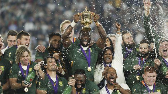 Sudáfrica conquista el trono del rugby imponiéndose con justicia a Inglaterra