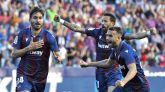 El Levante desarbola a un complaciente Barcelona en ocho minutos |3-1