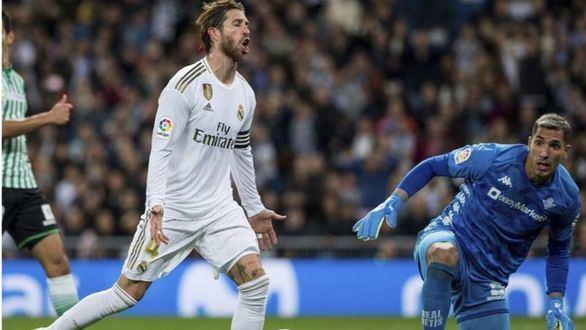 El Real Madrid desaprovecha ante el Betis asumir el liderato  0-0