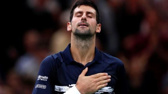 Djokovic corona París por quinta vez y acecha los Master de Nadal