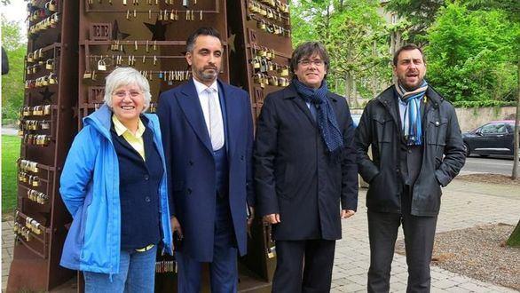 El juez Llarena reactiva la euroorden contra Comín, Ponsatí y Puig