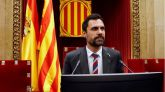Torrent desafía al TC: 'No aceptaremos censura en el Parlament'