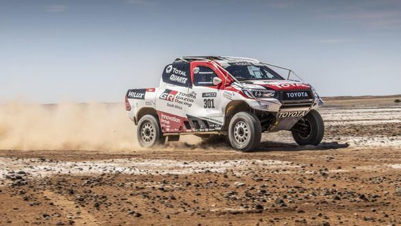 Dakar 2020. Fernando Alonso, en Arabia Saudí para seguir mejorando