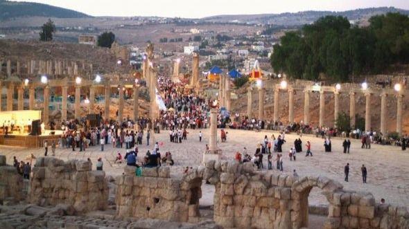 Cinco apuñalados en las ruinas romanas de Jerash