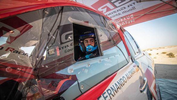 Dakar 2020. Fernando Alonso debuta en Arabia Saudí en la cuarta posición