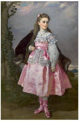 Concepción Serrano, después condesa de Santovenia, de Eduardo Rosales