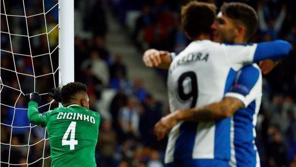 Liga Europa. Homenaje del Espanyol a costa de un Ludogorets con nueve |6-0