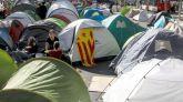 Escisión en la acampada de Barcelona: 100 personas abandonan la protesta
