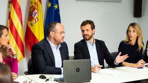 Casado elige Barcelona para pasar la jornada de reflexión