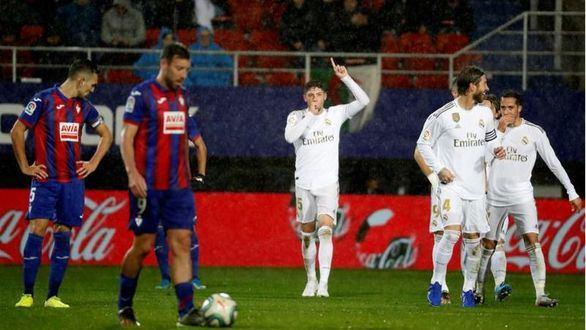 El Real Madrid presume de mejor versión en Ipurúa | 0-4