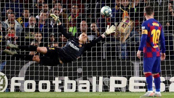 Messi soluciona los problemas del Barcelona | 4-1