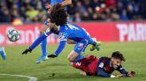 El Getafe ve frenada su inercia en la defensa de Osasuna | 0-0