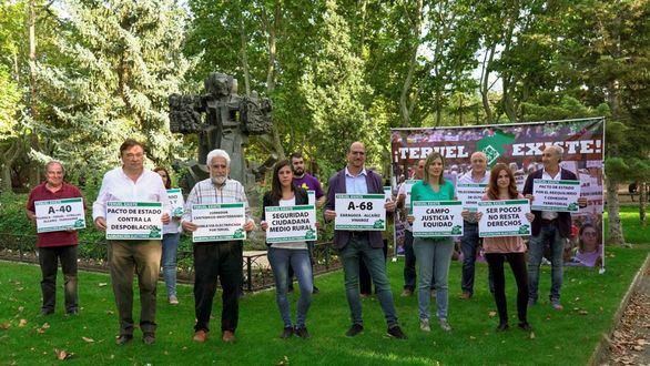 Teruel Existe entra por primera vez al Congreso y el BNG regresa