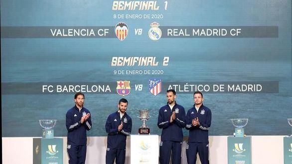 La Supercopa de España se jugará los próximos tres años en Arabia Saudí