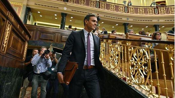 Sánchez pretende ser investido con UP, los partidos minoritarios y Cs