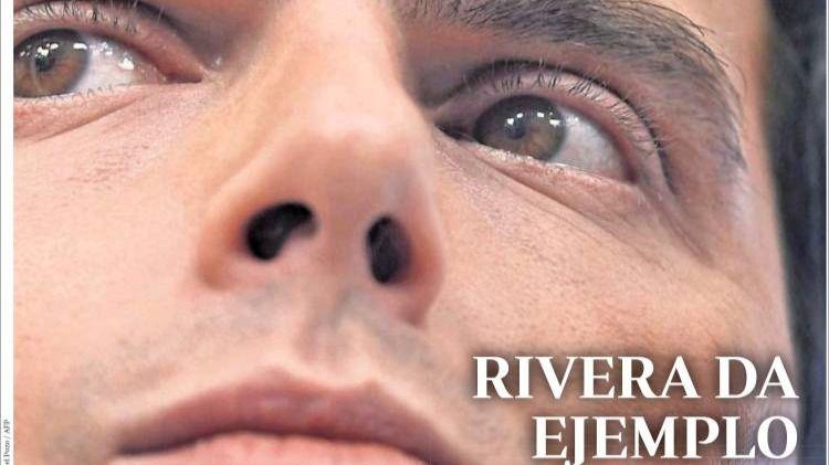La prensa coincide sobre Rivera: adiós coherente de un líder personalista