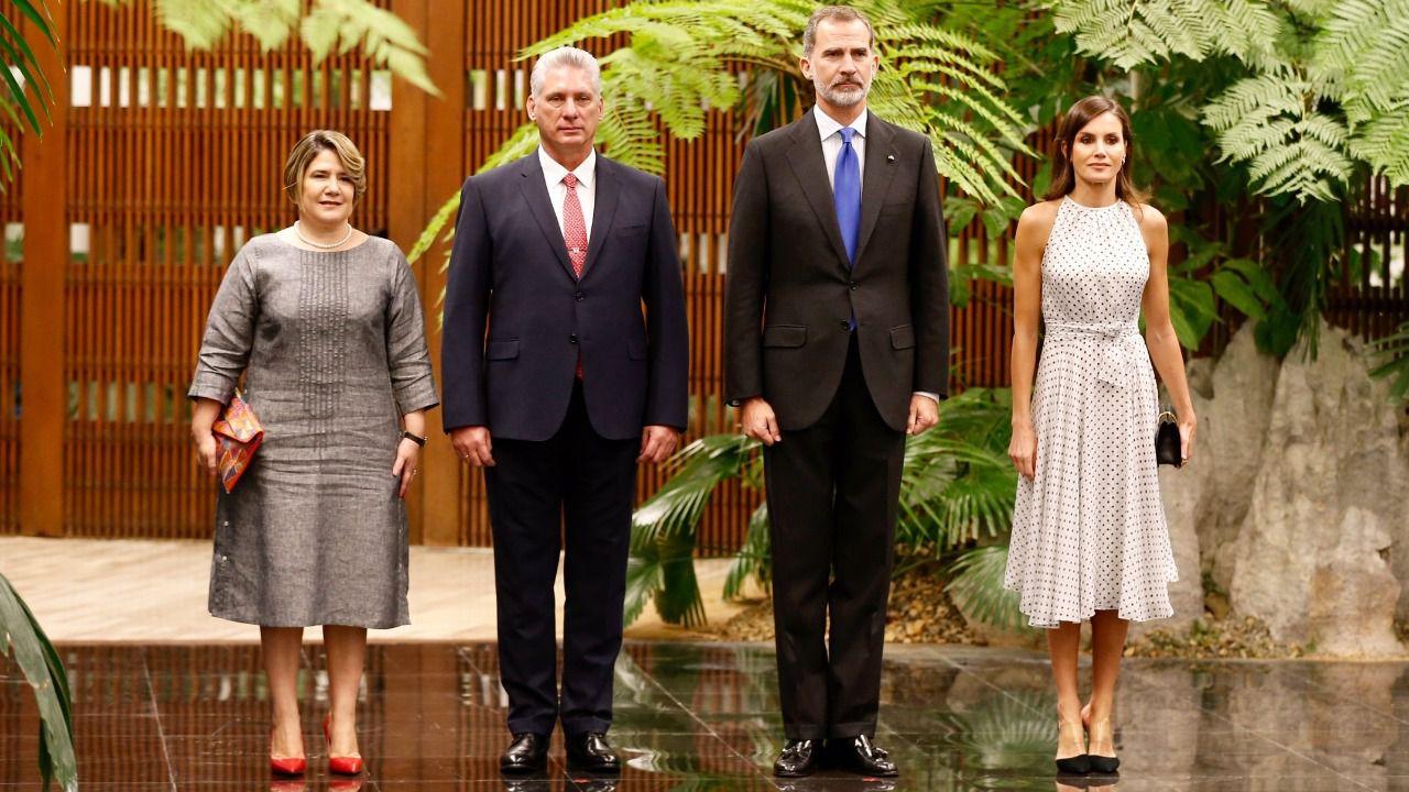 Los Reyes visitan Cuba en el 500 aniversario de la fundación de La Habana