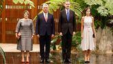 Los Reyes visitan por primera vez Cuba en el 500 aniversario de la fundación de La Habana