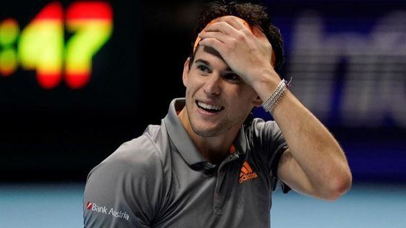 Un Thiem sobrehumano provoca una final anticipada entre Federer y Djokovic
