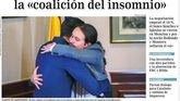 Los diarios reaccionan al pacto del abrazo