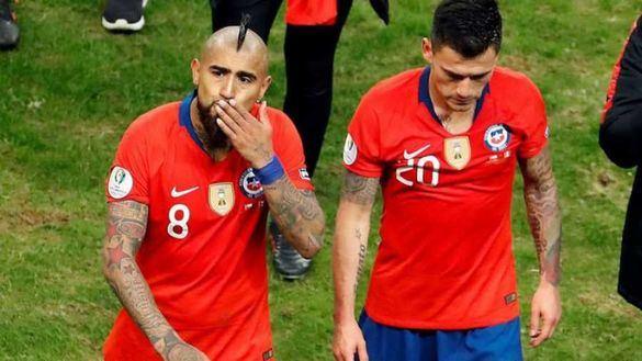 Los jugadores de la selección de Chile se rebelan contra el Gobierno de Piñera