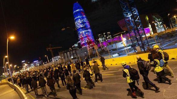 Los CDR vuelven a atacar: cortan algunos accesos a Barcelona
