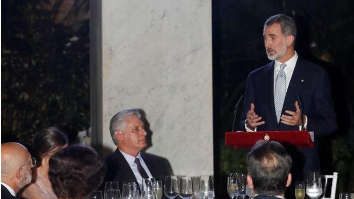 Díscurso íntegro del Rey en Cuba ante el presidente Díaz-Canel