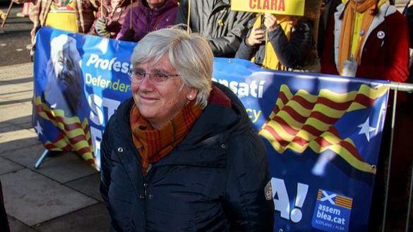 Libertad provisional para la exconsejera fugada Clara Ponsatí