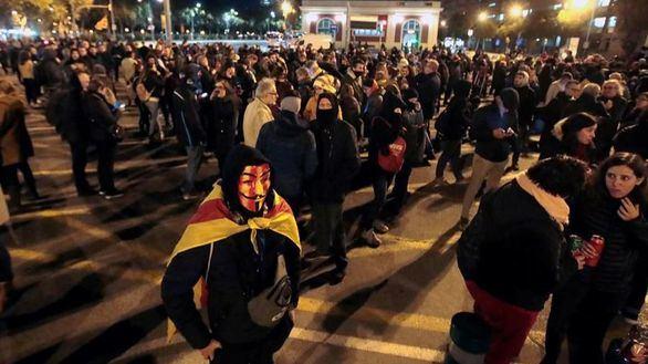 Los CDR tratan de colapsar Barcelona, sin éxito, por tercer día consecutivo