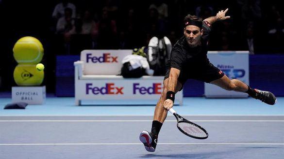 ATP Finals. La clase de Federer elimina a Djokovic y da a Nadal el número 1