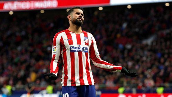 Diego Costa sufre una hernia discal y no jugará más en 2019