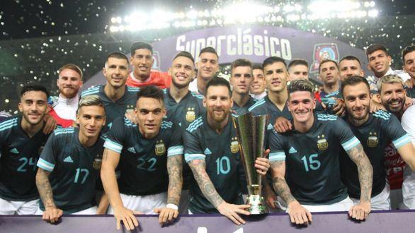 Un tempranero gol de Messi ante Brasil resuelve 'el Superclásico de las Américas' |1-0