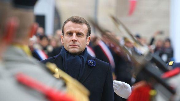 Francia detiene a dos ultraderechistas por preparar un atentado contra Macron
