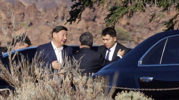 El presidente de China, Xi Jinping, aparca su agenda para visitar el Teide