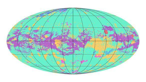 El primer mapa geológico de la luna Titán muestra muchas similitudes con la Tierra