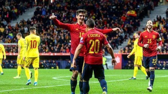 España se relame ante Rumanía y será cabeza de serie | 5-0