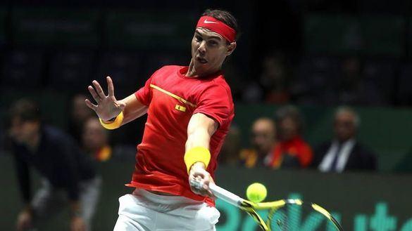 Copa Davis. Nadal gobierna y el dobles remata a Rusia en el primer triunfo español