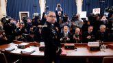 Funcionarios de la Casa Blanca echan más leña al 'impeachment' a Trump