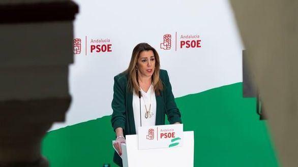 Susana Díaz se convierte en el chivo expiatorio del PSOE tras la sentencia de los ERE
