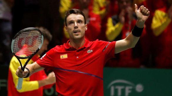 Copa Davis. Bautista y Nadal ponen a España en cuartos de final