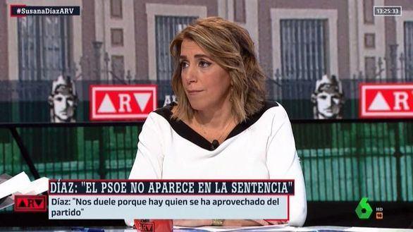 Susana Díaz rompe su silencio tras la sentencia de los ERE:
