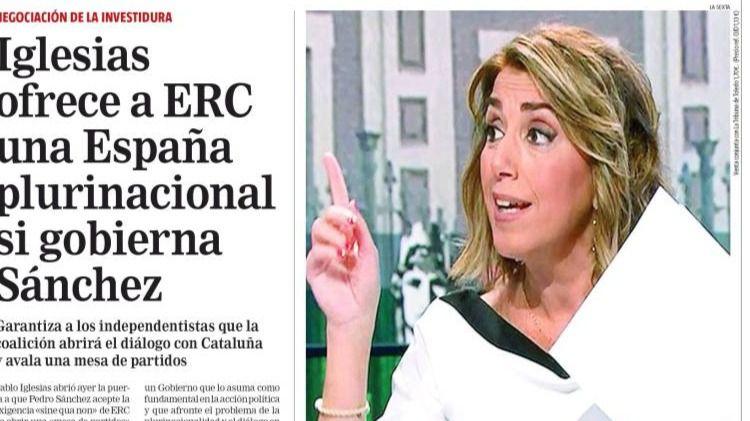 La Razón pone verde a Páramo y El País echa un capote a Celaá