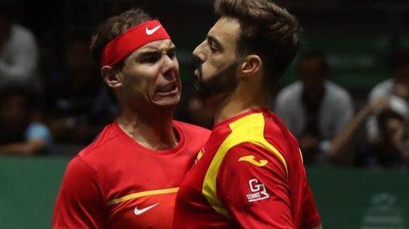 Copa Davis. Nadal y Granollers dan las semifinales a España