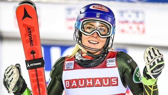 Eslalon. Mikaela Shiffrin abre la temporada con récord