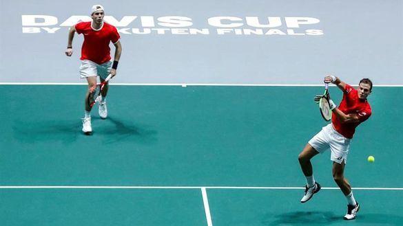 Copa Davis. Canadá remonta con épica ante Rusia y aterriza en la final