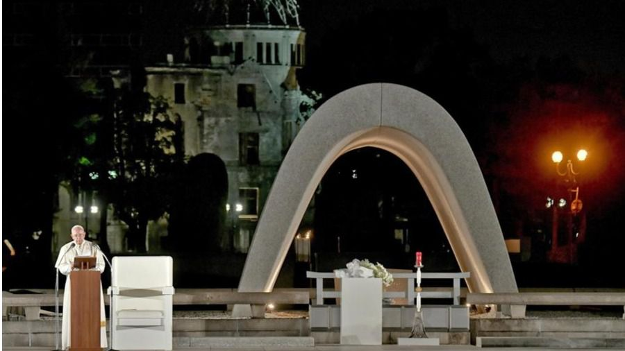 El Papa, en Hiroshima y Nagasaki: